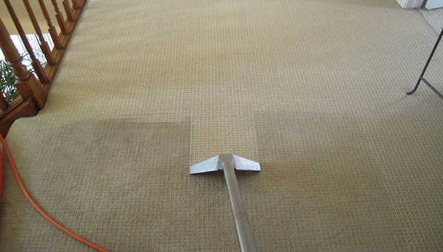 Чистка ковролина в квартире