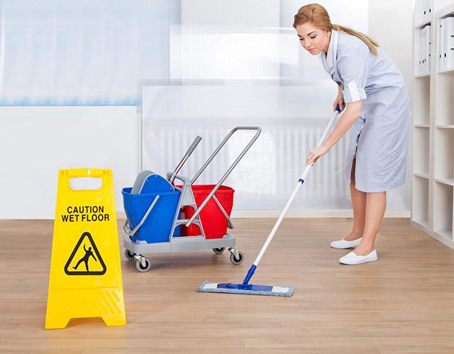 Ежедневная уборка в офисе