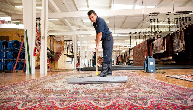Химчистка ковровых покрытий в «Немецкой химчистке» (Киев)