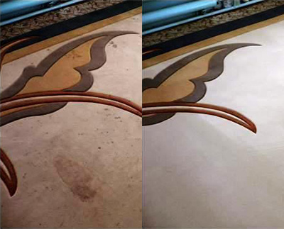 Химчистка ковров - до и после 3