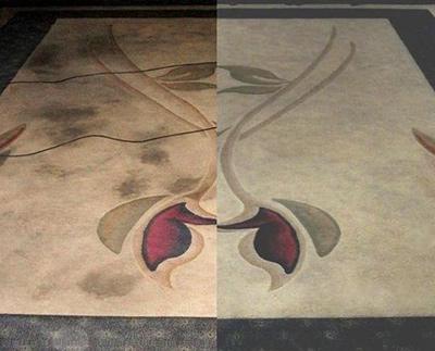 Химчистка ковров - до и после 4