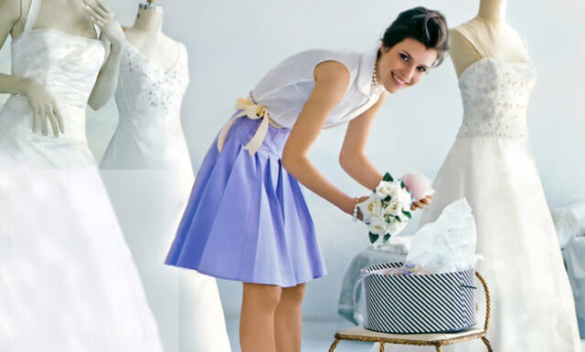 Как вывести пятно с свадебного платья